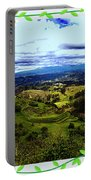 View And Inca/canari Ruins On Cojitambo II Portable Battery Charger