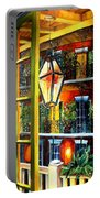 View From A French Quarter Balcony Portable Battery Charger by Diane Millsap