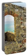 View From Doria Castle In Portovenere Italy Portable Battery Charger