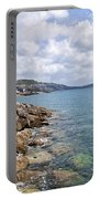 View From North Wall - Lyme Regis Portable Battery Charger