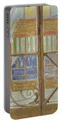 View Of A Butcher S Shop Arles, February 1888 Vincent Van Gogh 1853  1890 Portable Battery Charger