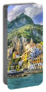 View Of Amalfi Portable Battery Charger