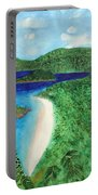 View Of Beach In St John Us Virgin Islands  Portable Battery Charger