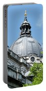 View Of Brompton Oratory Dome Kensington London England Portable Battery Charger