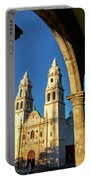 View Of Cathedral And Arches Portable Battery Charger