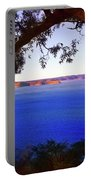 View Of  Central Coast From West Head  Portable Battery Charger