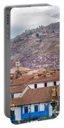 View Of Central Cuzco Peru Portable Battery Charger