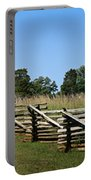 View Of Clover Hill Tavern Appomattox Court House Virginia Portable Battery Charger