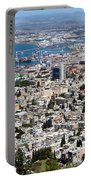 View Of Haifa Portable Battery Charger