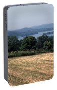 View Of Lake Waramaug Portable Battery Charger