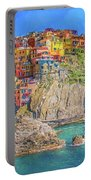 View Of Manarola 2 Portable Battery Charger