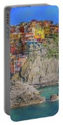 View Of Manarola Portable Battery Charger