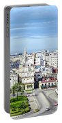 View Of Old Town Havana Portable Battery Charger