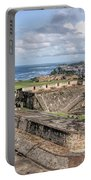 View Of San Juan From The Top Of Fort San Cristoba Portable Battery Charger
