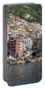 View Of The Riomaggiore, La Spezia Portable Battery Charger