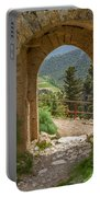 View Through The Castle Door Portable Battery Charger