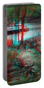View To The Cove - Use Red-cyan 3d Glasses Portable Battery Charger