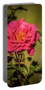 Vignetted  Rose Portable Battery Charger
