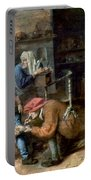 Village Barber-surgeon Portable Battery Charger