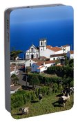Village In The Azores Portable Battery Charger