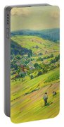 Village In The Foothills Portable Battery Charger