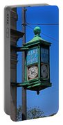 Village Of Elmore Clock-vertical Portable Battery Charger