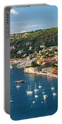 Villefranche-sur-mer And Cap De Nice On French Riviera Portable Battery Charger