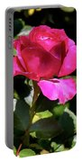 Vincent Red Rose Portable Battery Charger