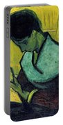 Vincent Van Gogh  A Novel Reader Portable Battery Charger