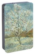 Vincent Van Gogh, The Pink Peach Tree Portable Battery Charger