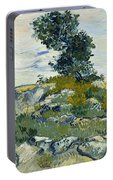 Vincent Van Gogh, The Rocks Portable Battery Charger