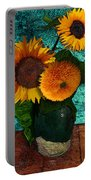 Vincent's Sunflowers 2 Portable Battery Charger