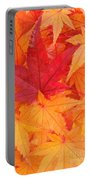 Vine Maple Mosaic Portable Battery Charger