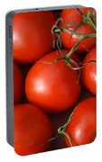 Vine Ripe Tomatoes Fine Art Food Photography Portable Battery Charger