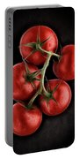 Vine Ripened Tomatoes. Portable Battery Charger