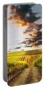 Vineard Aglow Portable Battery Charger by Sharon Foster