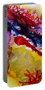 Vines And Glow Abstract Portable Battery Charger