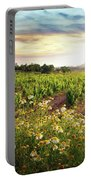 Vineyard Portable Battery Charger by Carlos Caetano