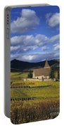 Vineyard In Alsace, France Portable Battery Charger