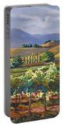 Vineyard In California Portable Battery Charger
