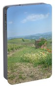 Vineyard In Italy Portable Battery Charger