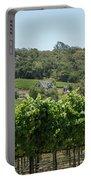 Vineyard In Sebastopol, Sonoma, California Portable Battery Charger