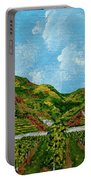 Vineyards Of The Wachau Valley Portable Battery Charger