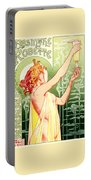 Vintage Absinthe Robette Poster Portable Battery Charger