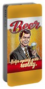 Vintage Beer Advert Portable Battery Charger