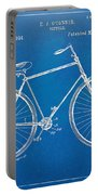Vintage Bicycle Patent Artwork 1894 Portable Battery Charger by Nikki Marie Smith
