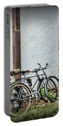 Vintage Bicycles The Journey Portable Battery Charger