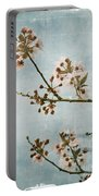 Vintage Blossoms Portable Battery Charger