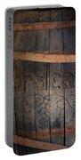 Vintage Bordeaux Wine Barrel Without Its X Portable Battery Charger