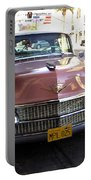 Vintage Cadillac. Luxury From The Past Portable Battery Charger